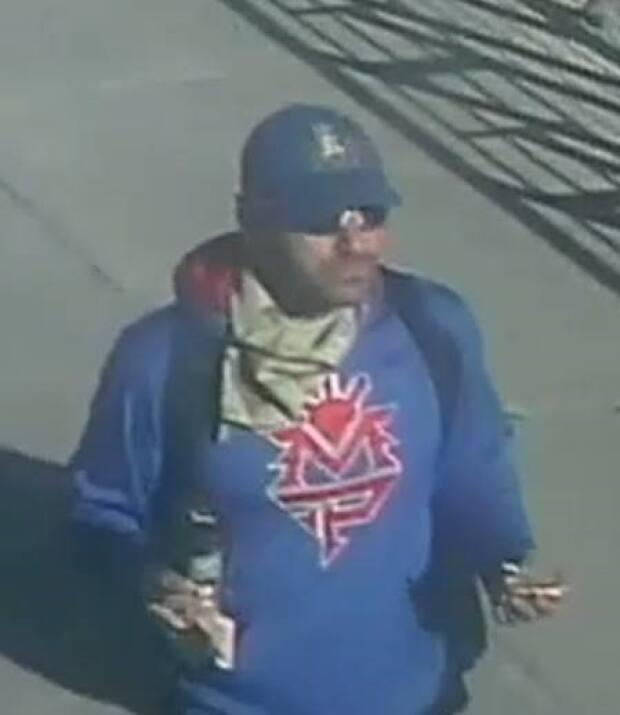 Police are seeking this man who may have witnessed something near where 49-year-old Russell David Younker of Calgary was stabbed to death on Thursday.