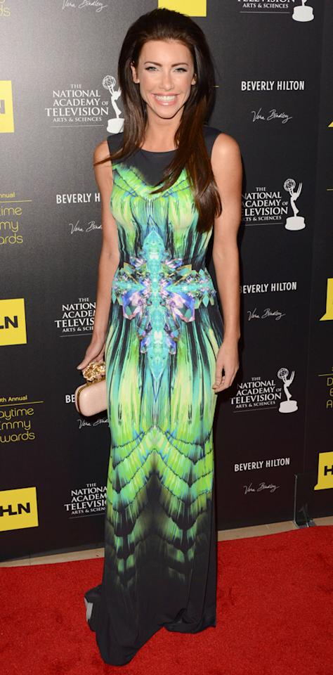 Jacqueline MacInnes Wood arrives at The 39th Annual Daytime Emmy Awards held at The Beverly Hilton Hotel on June 23, 2012 in Beverly Hills, California.