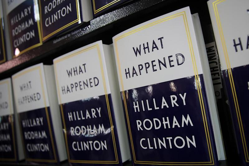 What Happened: Hillary Clinton's memoir was published on Tuesday. (Getty Images)