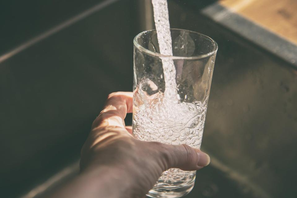 """<p>""""I got in the habit of drinking a gallon of water a day. (I have always sucked at drinking water.)"""" - Sarah Wasilak, editor, Fashion</p>"""