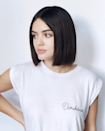 If you're ready for a big change, go for a super chic blunt bob. Brown loves it for autumn since it pairs well with turtlenecks and sweaters, and it's an excellent way to get rid of dry summer ends. To get a really sleek silhouette, she recommends asking for a blunt line with no layers. If you have really thick hair, your stylist may need to take a little take out of the ends to add movement.