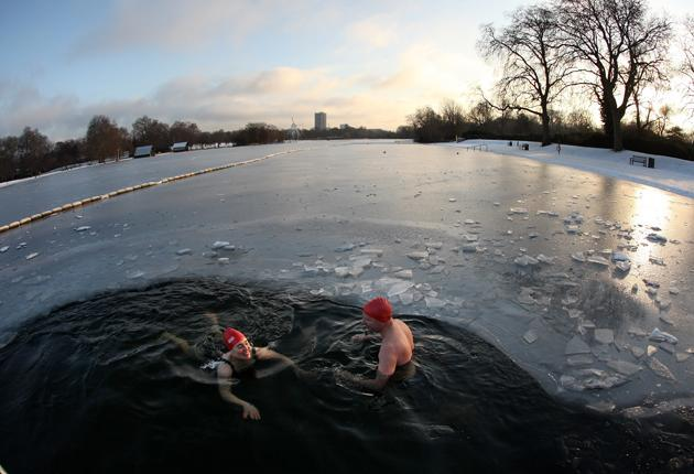 Swimming in the SerpentineGETTY IMAGES