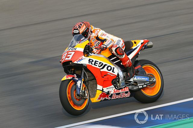 "2018. Marc Márquez <span class=""copyright"">Gold and Goose / Motorsport Images</span>"