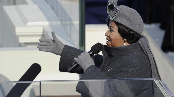 Aretha Franklin: A life in pictures