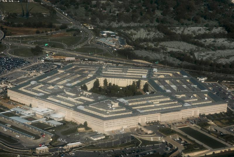 About 75 percent of the Defense Department's 740,000 civilian workers could be furloughed under a shutdown (AFP Photo/SAUL LOEB)