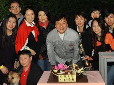 A very happy birthday for Jackie Chan
