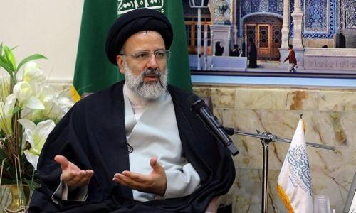 Ebrahim Raisi in Qom, Iran, in 2016.