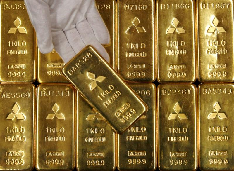 Gold firms as potential U.S.-China trade snags come into view