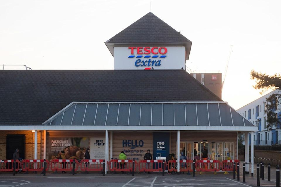 Tesco has reported strong sales for the Christmas 2021 period (tesco)
