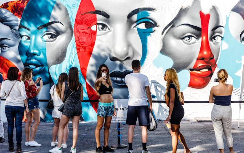 Wynwood, formerly Little Puerto Rico, latterly street-art central - OSMANY TORRES (OSMANY TORRES (Photographer) - [None]