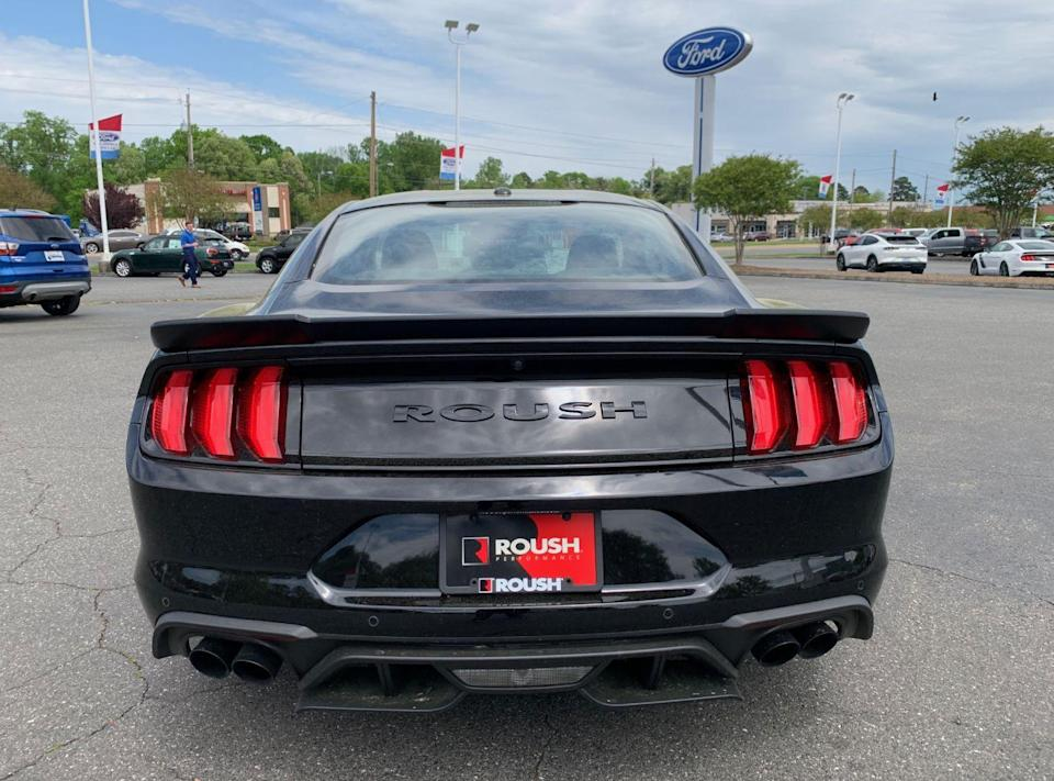 The view most people see of the Roush.