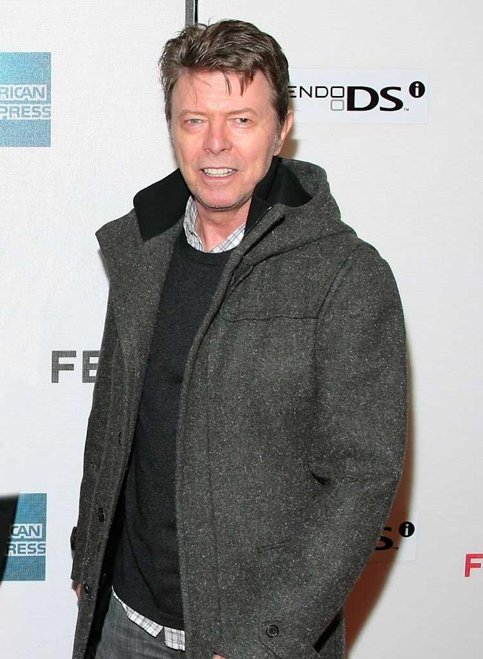 "January 8: David Bowie turns 64 Michael Loccisano/<a href=""http://www.gettyimages.com/"" target=""new"">GettyImages.com</a> - April 30, 2009"