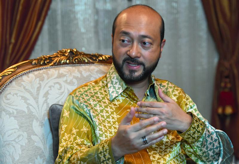 Mukhriz said in an interview published today that he hopes the Pakatan Harapan leadership will leave him alone even as political observers predict his rapid rise due to his political pedigree. — Bernama pic