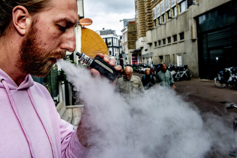 Vaping has become a popular alternative to smoking (Picture: PA)