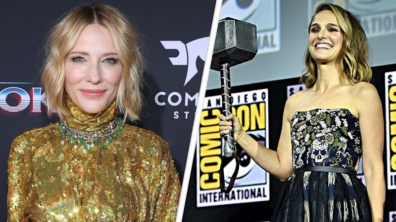 Cate Blanchett Reacts to Natalie Portman Playing Thor in 'Love and Thunder' (Exclusive)