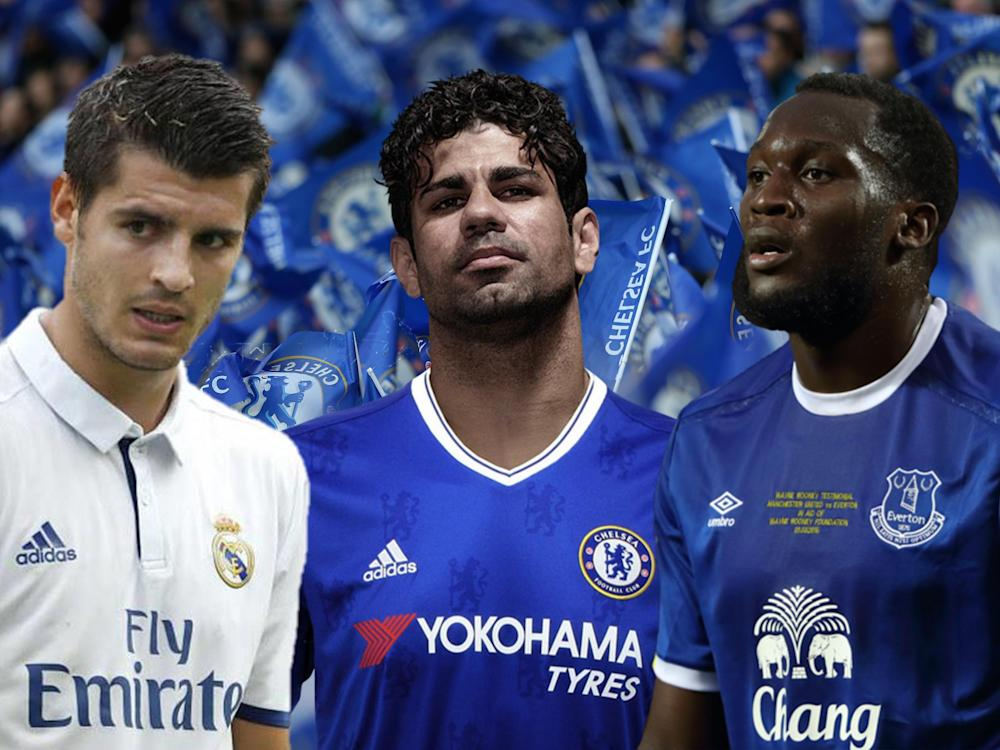 Who comes out on top between Morata, Costa and Lukaku?: Getty