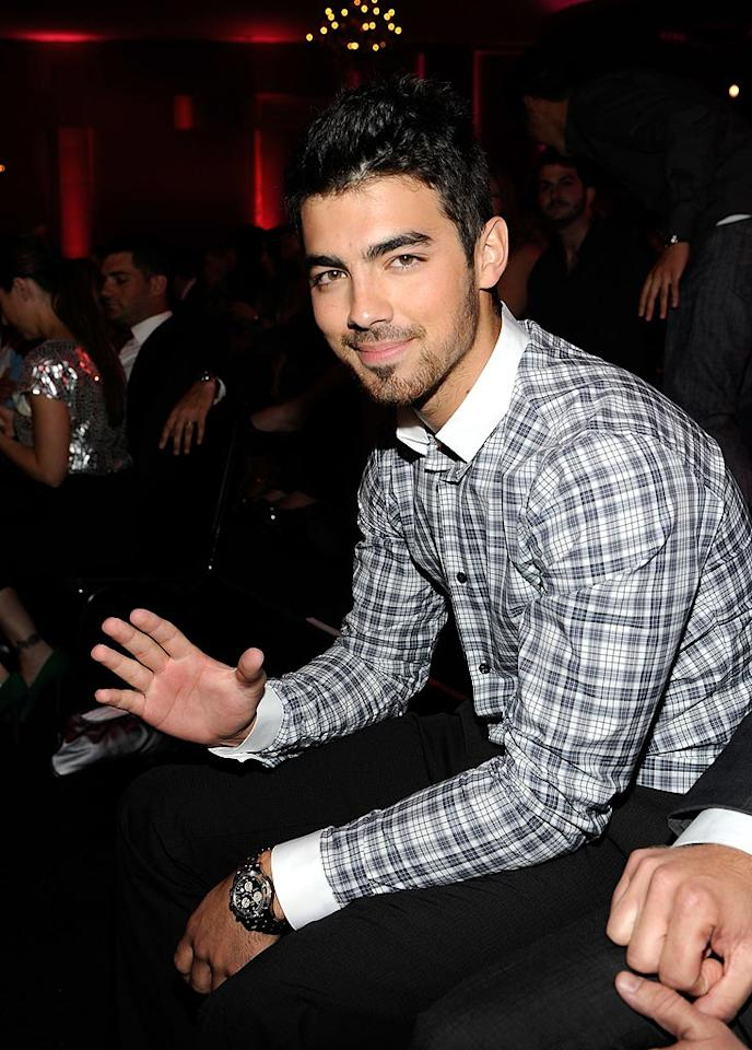 "Joe Jonas and his bros were among the winners at Monday's 2010 Do Something Awards at the Hollywood Palladium in LA, which aired live on VH1. Kevin Mazur/<a href=""http://www.wireimage.com"" target=""new"">WireImage.com</a> - July 19, 2010"