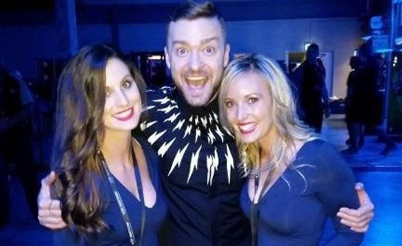Timberlake meets obsessed Perth superfans