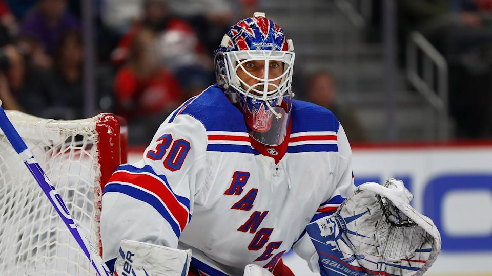 Henrik Lundqvist will not play for the Washington Capitals this upcoming season due to a heart condition. (AP Photo/Paul Sancya)