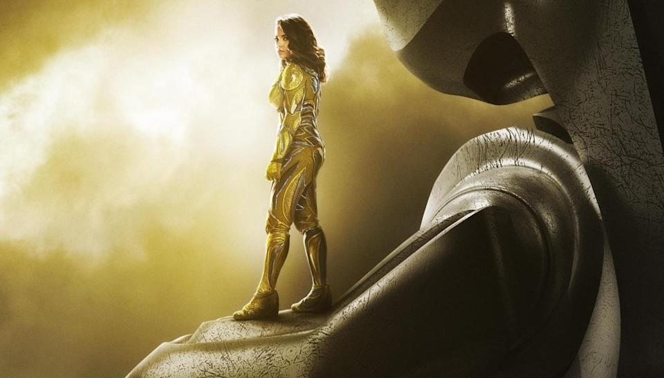 Becky G as Trini, the Yellow Ranger (credit: Lionsgate)