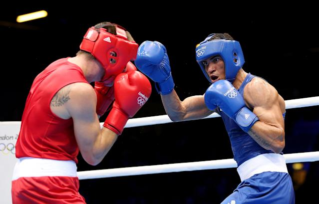 Ogogo beat world No. 1 Evhen Khytrov on his way to a semi-final match against Esquiva Falcão Florentino, where he lost 16-9 on points