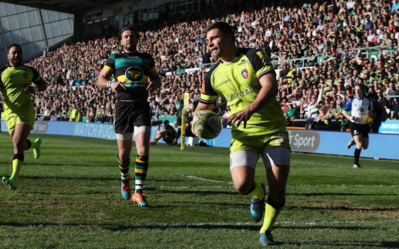 Ben Youngs goes over for a try - Getty Images Europe