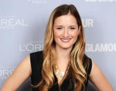 <p>This 29-year-old is making a name for herself thanks to some highly visible TV roles. She definitely inherited her mom's genes when it comes to acting and appearance. (Photo by Dimitrios Kambouris/WireImage) </p>