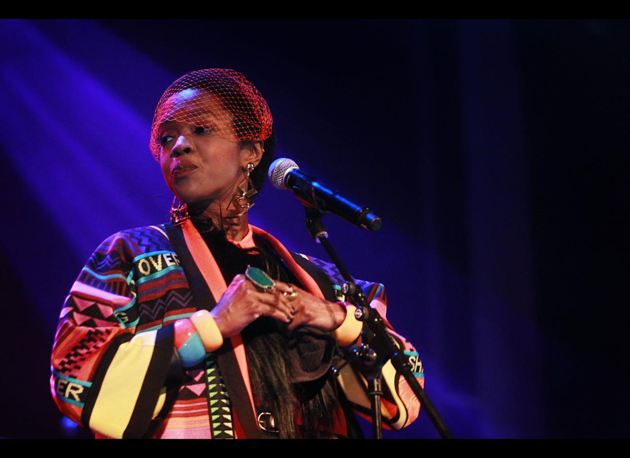"""""""When it feel like living's harder than dyin'/For me givin' up's way harder than tryin'/<strong>Lauryn</strong> Hill say her heart was in Zion/I wish her heart still was in rhymin'"""" <br> --""""Champion"""""""