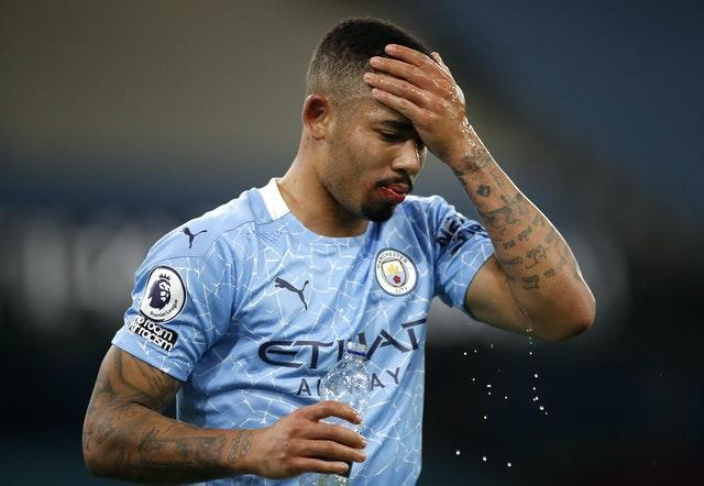 Gabriel Jesus is one of the Manchester City players currently isolating