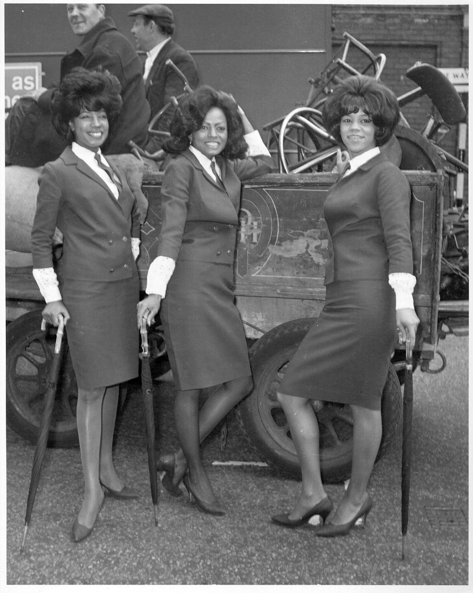 <p>The Supremes is the sixties' favorite girl group, wearing their nod to menswear style. These neckties were surely an inspiration for all of the cravats we saw down the fall 2020 runways.</p>