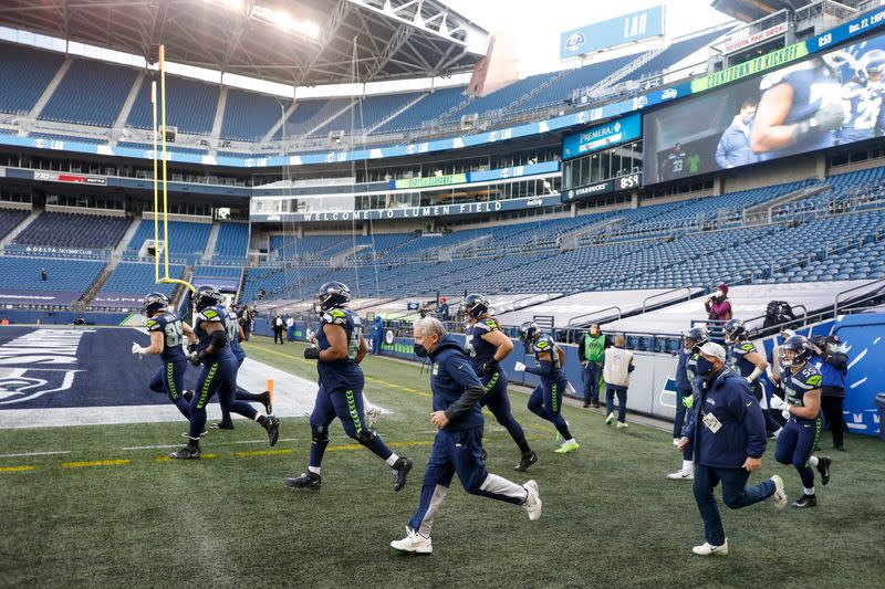 FILE PHOTO: NFL: Los Angeles Rams at Seattle Seahawks