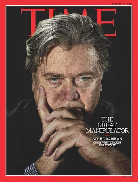 The Time magazine cover that so annoyed Steve Bannon's boss