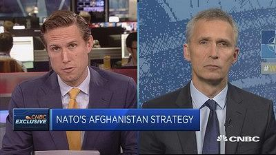 NATO Secretary General Jens Stoltenberg discusses NATO and U.S. counterterror operations in Afghanistan.