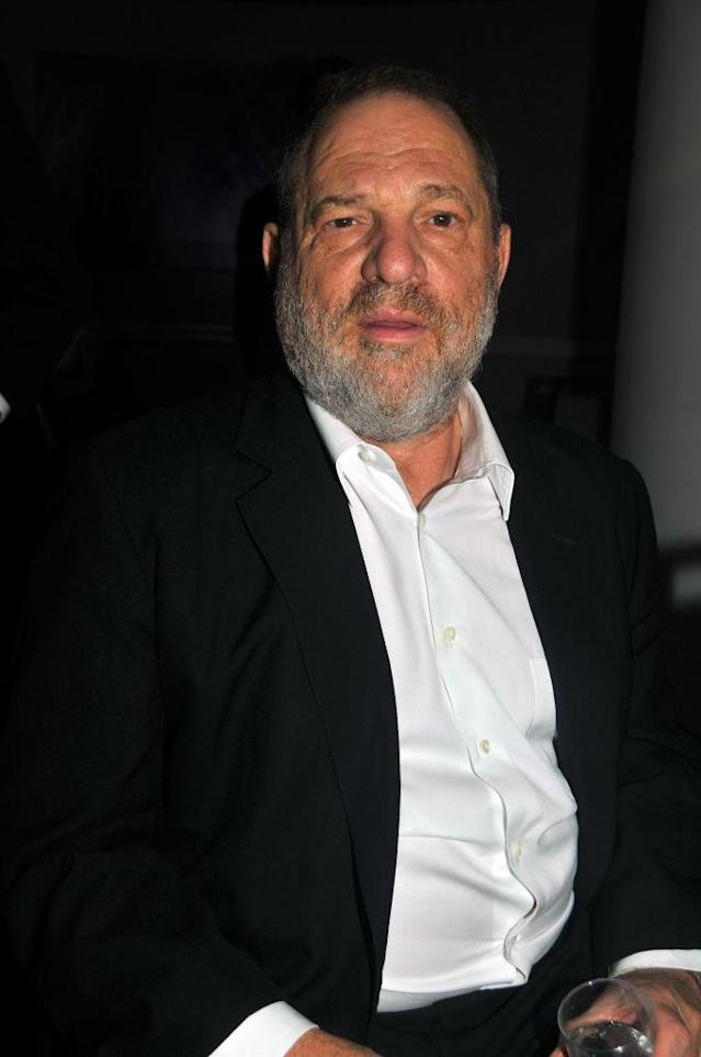 Harvey Weinstein attends an awards dinner in New York City on Sept. 18, 2017. (Photo: Tim Boxer/Getty Images)