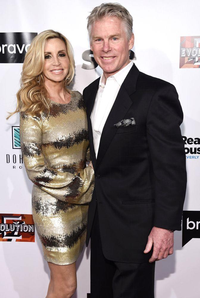 Camille Grammer and David C. Meyer