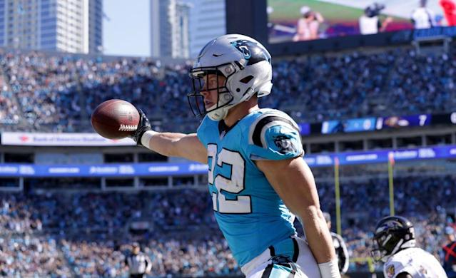 If you had Christian McCaffrey on one of your 2018 fantasy teams, you probably had a successful season. (Photo by Streeter Lecka/Getty Images)