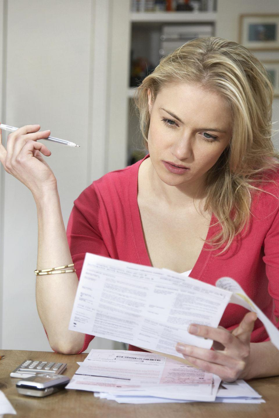 """<p>Creditors will shift your payment due dates so that you can lump them all together, or split them between the two pay periods of each month. Oh, and make sure to <a href=""""https://www.womansday.com/home/organizing-cleaning/a53760/documents-you-need-to-shred/"""" rel=""""nofollow noopener"""" target=""""_blank"""" data-ylk=""""slk:shred your statements"""" class=""""link rapid-noclick-resp"""">shred your statements</a>, don't just toss them in the trash. </p>"""