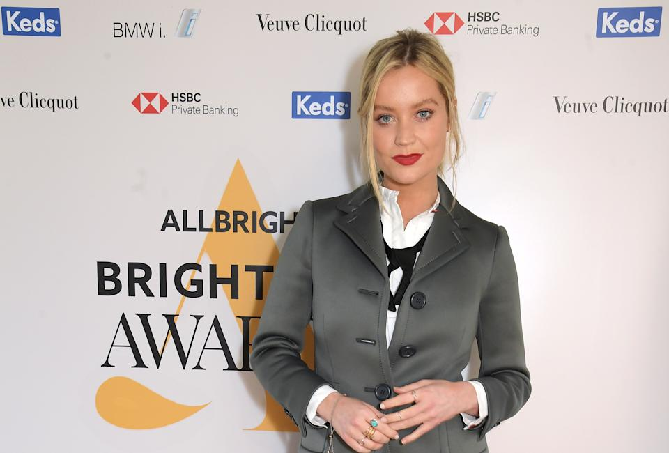 LONDON, ENGLAND - MARCH 09:  Laura Whitmore attends AllBright's inaugural BrightList Awards 2020 at all-female members club The AllBright Mayfair on March 9, 2020 in London, England.  (Photo by David M. Benett/Dave Benett/Getty Images for AllBright)