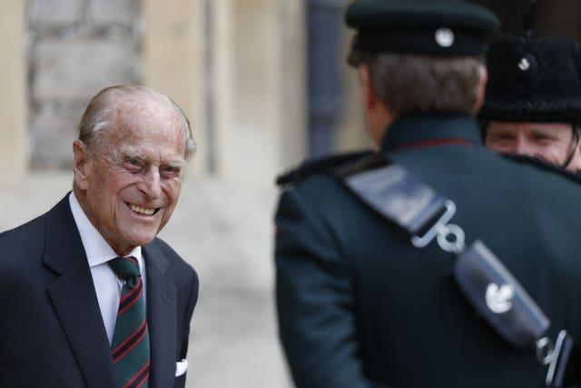 The Duke of Edinburgh at Windsor
