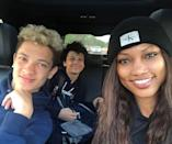 "<p>The actress and <em>Real Housewives of Beverly Hills</em> star shares 13-year-old twin sons Jax and Jaid with ex-husband <a href=""https://people.com/celebrity/garcelle-beauvais-nilon-exposes-allegedly-cheating-husband-in-an-e-mail/"" rel=""nofollow noopener"" target=""_blank"" data-ylk=""slk:Mike Nilon"" class=""link rapid-noclick-resp"">Mike Nilon</a>, and also has a 29-year-old son, Oliver, from her previous marriage to producer Daniel Saunders.</p> <p>Believe it or not, Beauvais is also a boy grandma! Oliver's wife <a href=""https://www.instagram.com/p/B84lRNWJ-6n/"" rel=""nofollow noopener"" target=""_blank"" data-ylk=""slk:gave birth to Oliver Jr."" class=""link rapid-noclick-resp"">gave birth to Oliver Jr.</a> in February 2020.</p>"
