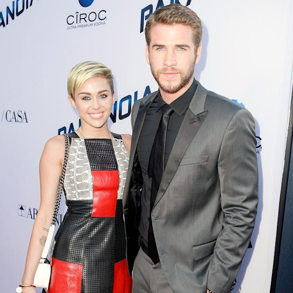 Miley Cyrus and fiancé Liam Hemsworth are working together on a script for a 'dramatic love story,' a source reveals in the new issue of Us Weekly — details!