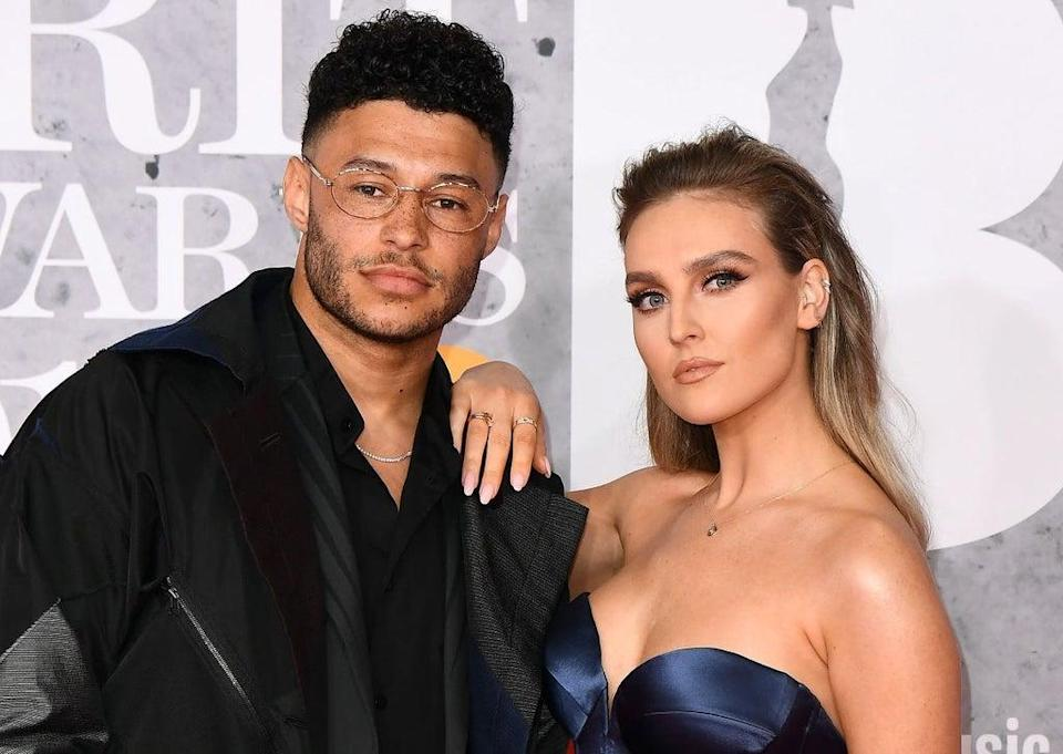 Perrie Edwards and Alex Oxlade-Chamberlain  (Getty Images)