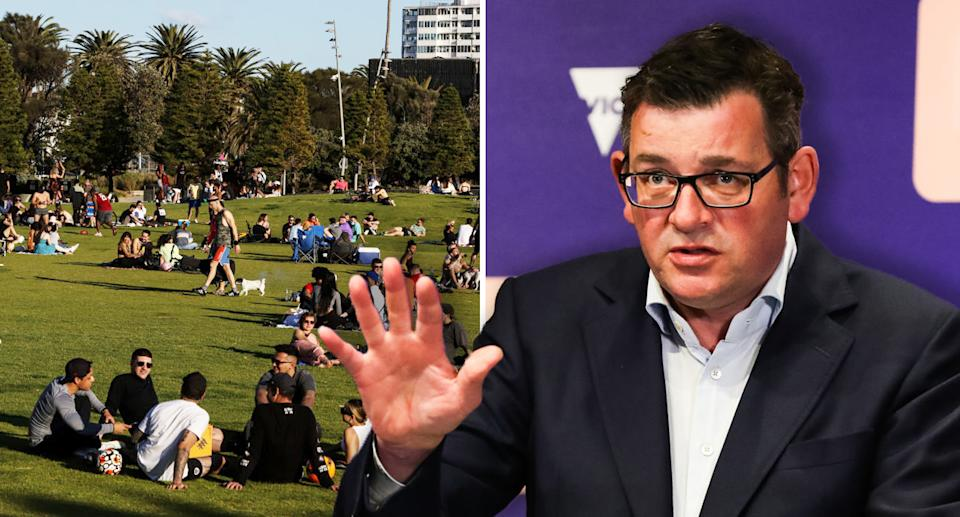 Premier Daniel Andrews is now overseeing the state's worst outbreak of the pandemic. Source: Getty