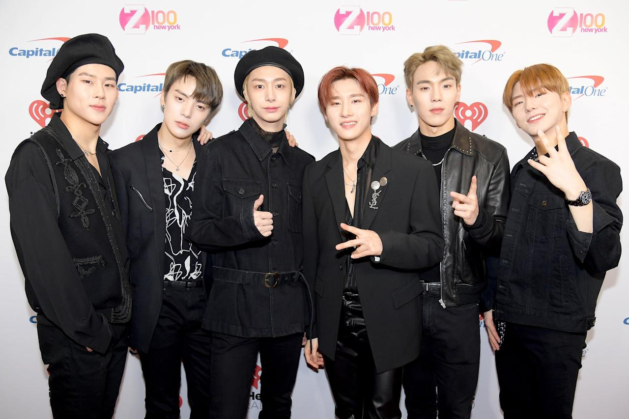 """<p>""""Something I just realized is that all seven of us don't have any female siblings,"""" Kihyun once told Refinery29. """"We all have brothers. So maybe that's why we especially look up to our fathers. It's interesting.""""</p>"""