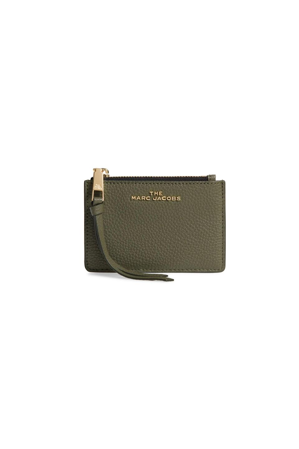 """<p><strong>THE MARC JACOBS</strong></p><p>nordstrom.com</p><p><strong>$74.90</strong></p><p><a href=""""https://go.redirectingat.com?id=74968X1596630&url=https%3A%2F%2Fwww.nordstrom.com%2Fs%2Fthe-marc-jacobs-leather-multi-wallet%2F5611678&sref=https%3A%2F%2Fwww.goodhousekeeping.com%2Flife%2Fmoney%2Fg33419415%2Fbest-nordstrom-anniversary-sales-2020%2F"""" rel=""""nofollow noopener"""" target=""""_blank"""" data-ylk=""""slk:Shop Now"""" class=""""link rapid-noclick-resp"""">Shop Now</a></p><p><em>originally $120</em></p><p>This compact leather wallet is perfect for days when you just can't deal with the extra bulk. <br></p>"""