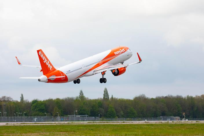EasyJet says new flights will provide Brits with opportunities to reconnect (PA Wire)
