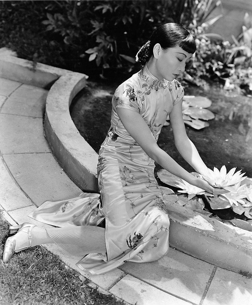 <p>Wong posed for a promotional shot for the movie, <em>The Daughter of Shanghai</em>, one of Wong's favorite films. In the movie, Wong played the Asian-American female lead and the heroine of the story, a role that was written specifically for her. </p>