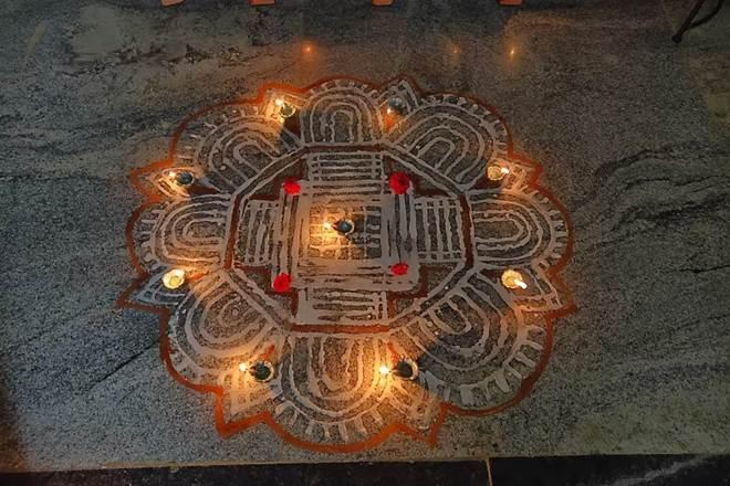 Tamil Nadu, kolam, Margazhi, why do we put kolam, kolam design, simple kolam, kolam with dots, kolam art, padi kolam, kolam rangoli, kolam art, easy kolam, mahalakshmi kolam, puli kolam