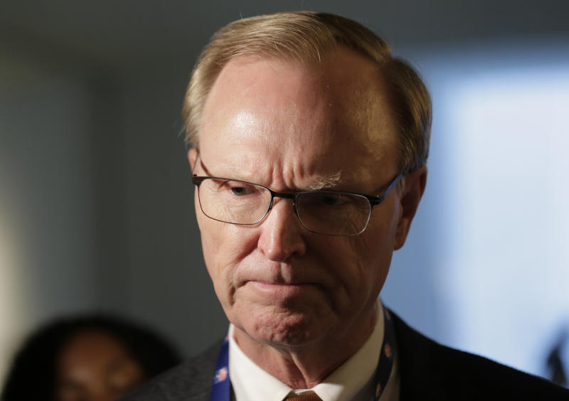 Giants owner John Mara gave a rigorous assessment of his team last week at the Meeting of the NFL Autumn Owners (AP)