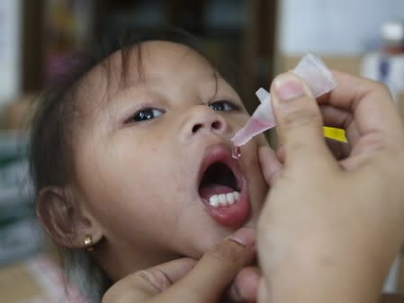 Philippines to vaccinate millions as polio virus resurfaces in 2 children